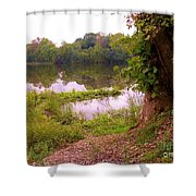 The Fae Shower Curtain