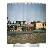 The Fair Of The Iron Horse, Baltimore Shower Curtain