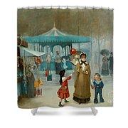 The Fairground  Shower Curtain