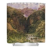 The Falls Of Tivoli Shower Curtain