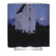 The Famed Sunken Church Is Featured Shower Curtain