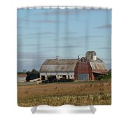The Farm II Shower Curtain