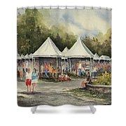 The Festival Shower Curtain