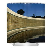 The Field Of Stars On The Freedom Wall Shower Curtain