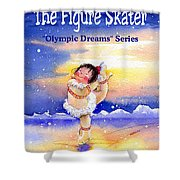 The Figure Skater - Cover Shower Curtain