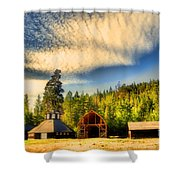 The Fintry Barns Shower Curtain