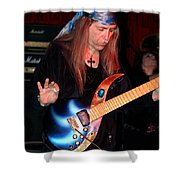 The Fire Of The Electric Sun Shower Curtain