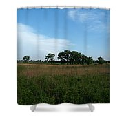 The First Homestead Shower Curtain