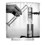 The First Technetium-99m Generator Shower Curtain