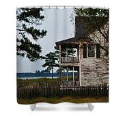 The Fishermans House Shower Curtain