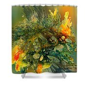 The Flavor Of Autumn Shower Curtain