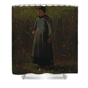 The Flowers Of The Field Shower Curtain