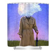 The Fool On The Hill Shower Curtain