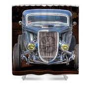 The Ford Grill Shower Curtain