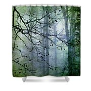 The Forest Cathedral Shower Curtain
