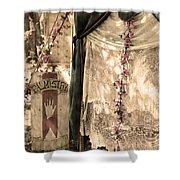 The Fortune Teller Palmistry Shower Curtain