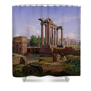 The Forum Rome  Shower Curtain