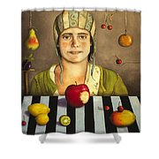 The Fruit Collector 2 Shower Curtain