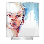 The Future?... Shower Curtain