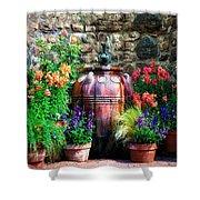 The Garden Cistern Shower Curtain