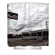 The Gateway Diner - Trooper Pa Shower Curtain