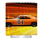 The General Lee Shower Curtain