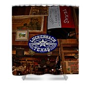 The General Store In Luckenbach Tx Shower Curtain