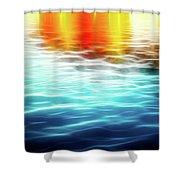 The German Wharf Shower Curtain