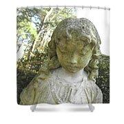 The Girl In My Backyard Shower Curtain