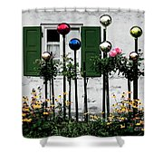The Glass Balls Shower Curtain