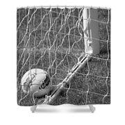 The Golden Goal Shower Curtain
