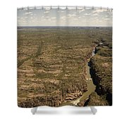 The Gorge Shower Curtain