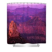 The Grand Canyon North Rim Shower Curtain