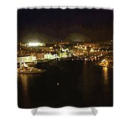 The Grand Harbour Of Malta Shower Curtain