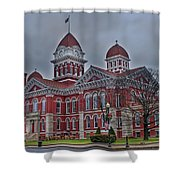 The Grand Old Lady Shower Curtain