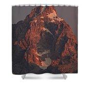 The Grand Teton At Sunrise Shower Curtain