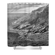 The Great Chicago Fire, 1871 Shower Curtain