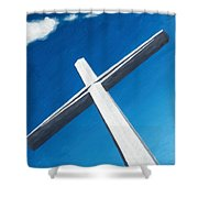 The Great Cross - Resurrection Shower Curtain