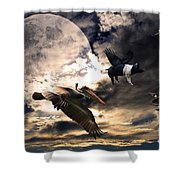 The Great Migration . Full Color Shower Curtain