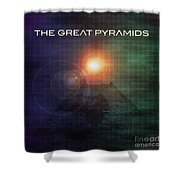 The Great Pyramids Shower Curtain
