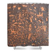 The Great Rock 1880 Shower Curtain