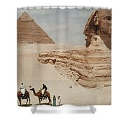 The Great Sphinx And The Second, Or Shower Curtain