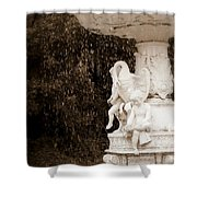 The Great Swan Shower Curtain