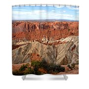 The Great Upheaval Dome Shower Curtain