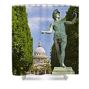 The Greek Actor Shower Curtain