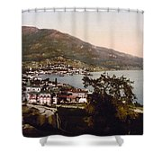 The Gulf Jalta -ie Yalta - The Crimea - Russia -ie- Ukraine Shower Curtain