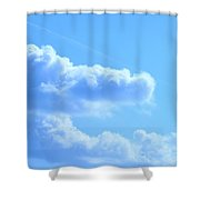 The Hand Of God Shower Curtain