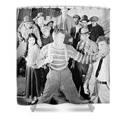The Happy Warrior, 1925 Shower Curtain