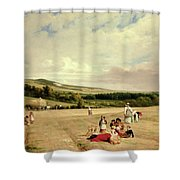 The Harvest Field Shower Curtain