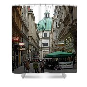 The Heart Of Vienna Shower Curtain